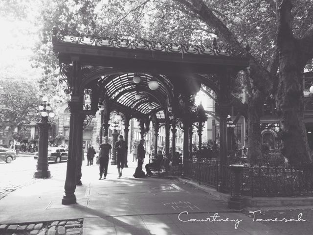 Courtney Tomesch Pioneer Square Seattle Washington