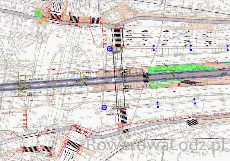 Tak docelowo ma wyglądać skrzyżowanie al. Mickiewicza i ul. Żeromskiego - powstaną także nowe drogi dla rowerów.