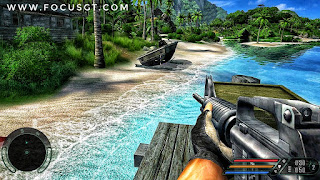 Far Cry is a first-person shooter game developed by Crytek and published by Ubisoft. It is the first installment in the Far Cry series, followed by 2008's Far Cry 2.