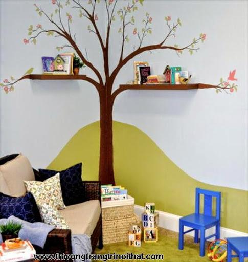 Phòng ngủ đẹp dành cho bé gái, bé trai - <strong><em>Thi công trang trí nội thất</em></strong>-3