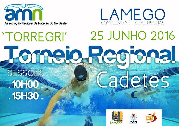 Torneio Regional de Cadetes – Natação – 25 de junho