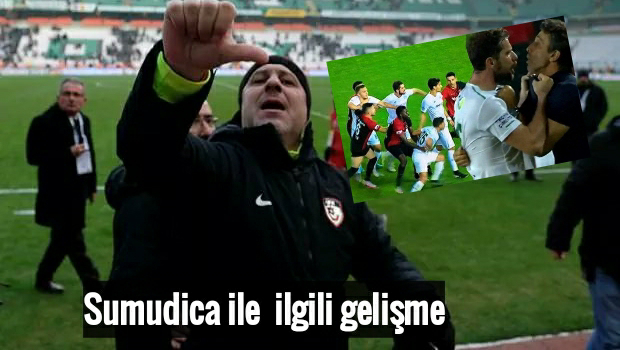 Sumudica Konyaspor maçında cezalı mı ?