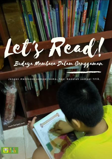 Let's Read, budaya membaca dalam genggaman