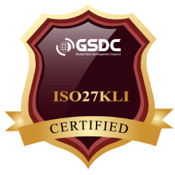 Certification Badge for ISO 27001 Lead Implementer