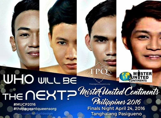 Mr United Continents Phils 2016