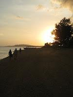 Gili Air at sunset