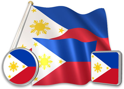 Philippine flag animated gif collection