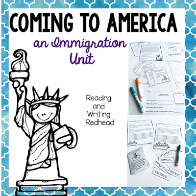 Immigration unit for second, third and fourth graders! Helpful, accessible curriculum