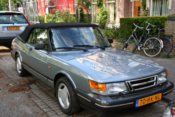 gestolen saab 900 classic cabrio 1992 platana grijs. Black Bedroom Furniture Sets. Home Design Ideas