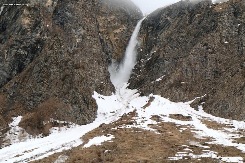 Avalanche Beaufortain, secteur Les Chapieux, Pointe de la Traverse - Photo 1