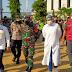 Bupati Purwakarta Tinjau Pelaksanaan Vaksinasi di GOR Purnawarman