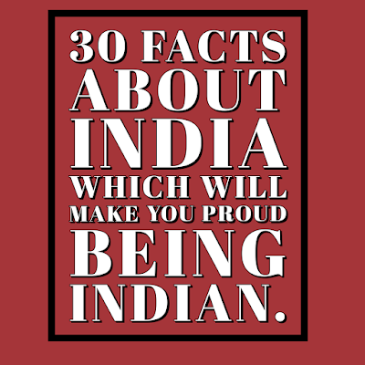 30 Facts about India