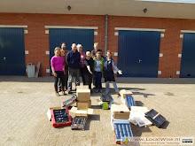 Solar food dryer workshop in Groningen