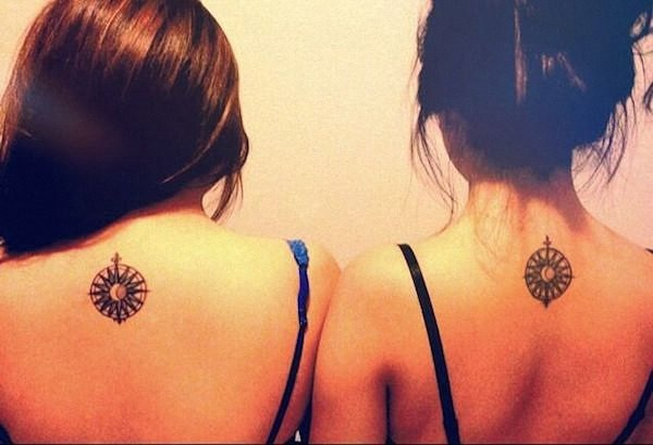 uma_bssola_do_sol_e_da_lua_melhor_amigo_tatuagens