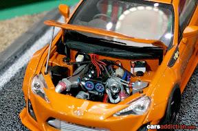 1:24 Toyota GT86 Engine Bay