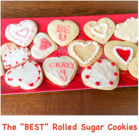 A HAPPY HARVEST: The Best Rolled Sugar Cookies