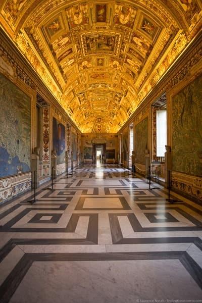 Vatican museum corridor