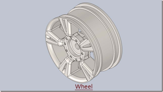 3D Solid Modelling Videos: Wheel (Video Tutorial) SolidWorks