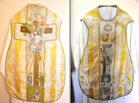 A Maundy Thursday Chasuble by the Dominican Sisters of Galway