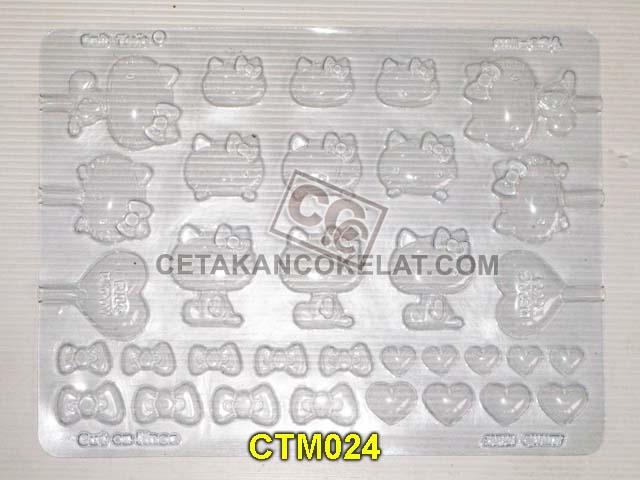 cetakan coklat cokelat hello kitty CTM024 CTM24 CTM