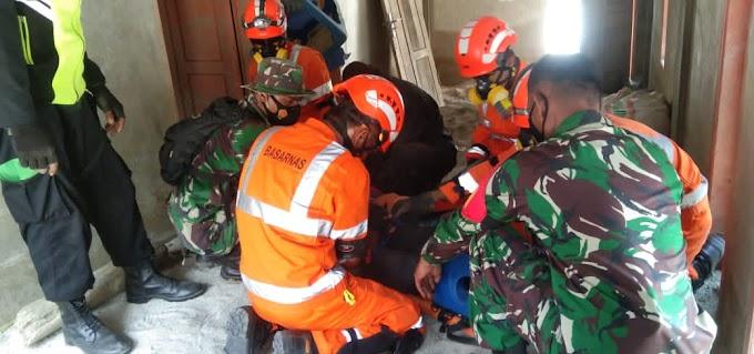 Mahasiswa KKNT Fakultas Pertanian Untad Ikut Berpartisipasi Dalam Simulasi Darurat Bencana Integrasi Covid-19