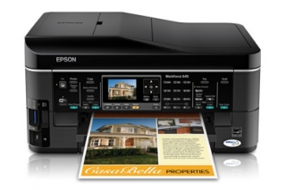 Download Drivers Epson WorkForce 645 printer for All Windows