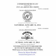 WDC 2014 Winter Show