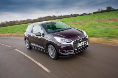 New DS3 Cabrio on the road