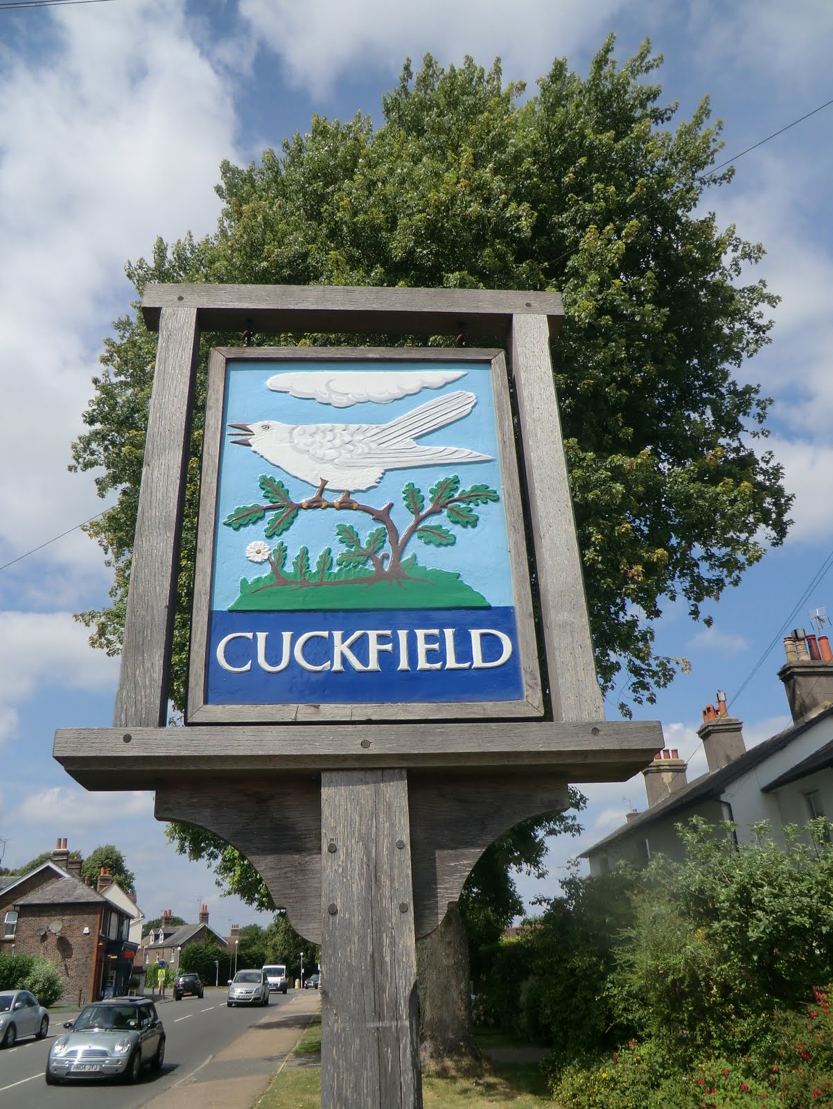 CIMG3493 Cuckfield town sign
