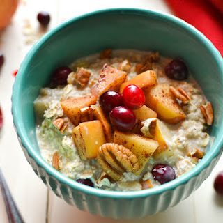 Cranberry-Apple Pie Overnight Oats