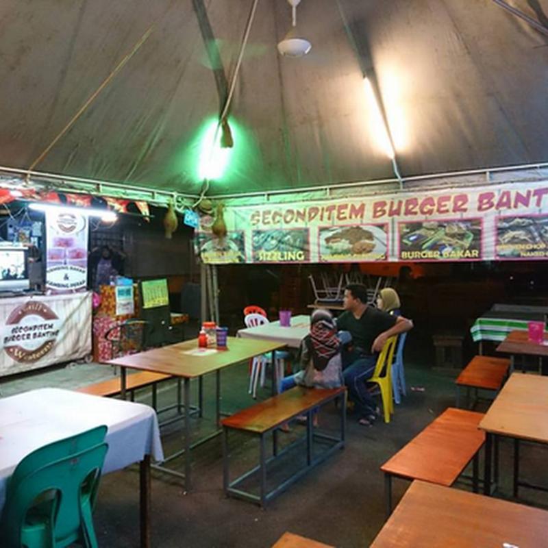 SecondItem Burger : Pelbagai pilihan makanan yang menarik !