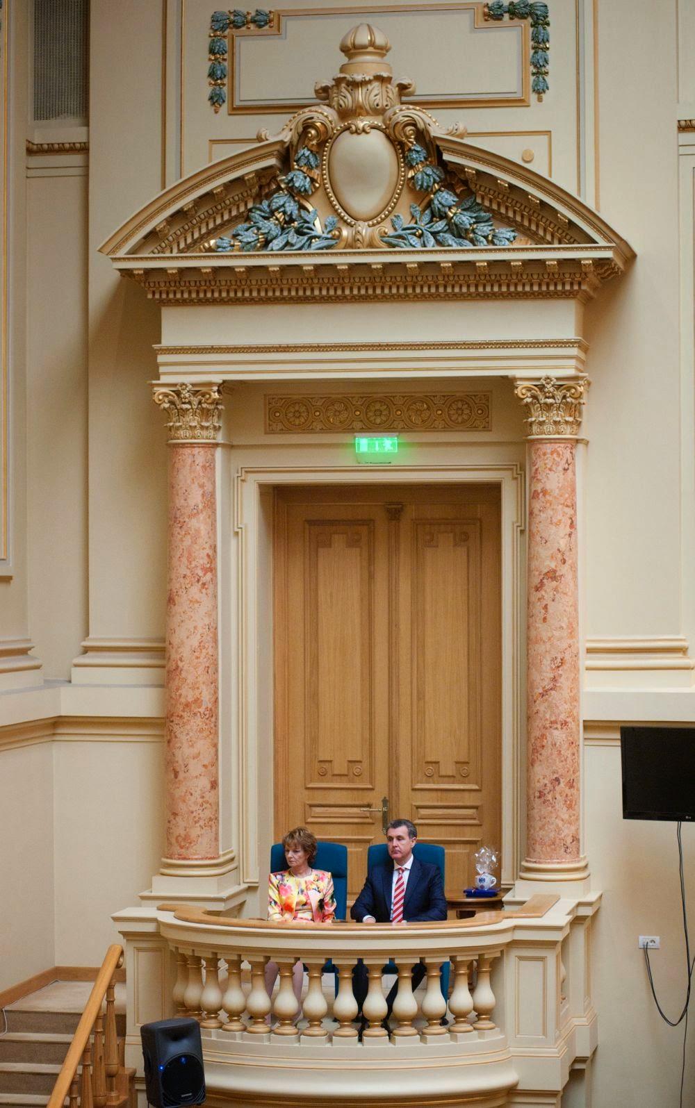 Familia Regală la Biblioteca Centrala Universitara Regele Carol I - Principesa Margareta, principele Radu