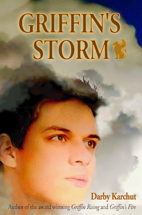 Cover Reveal: Griffin's Storm by Darby Karchut