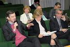 Talk show - il prof. Omar Calabrese, la prof.ssa Rosa Bianco Finocchairo e il presidente Enoteca Italiana Claudio Galletti