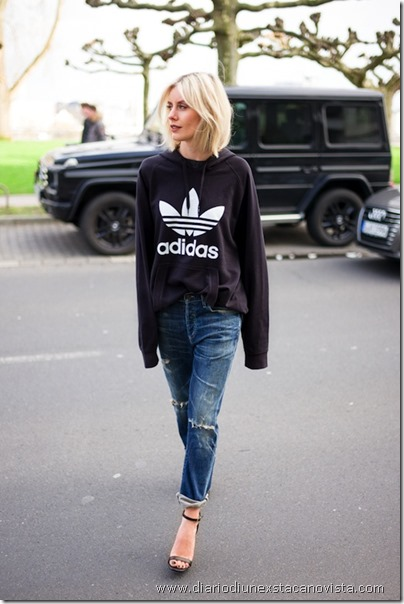 Le-Fashion-Blog-Blogger-Style-Sporty-Chic-Athleisure-Trend-Black-Adidas-Hooded-Sweatshirt-Distressed-Boyfriend-Denim-Helled-Sandals-With-Ankle-Straps-Via-Lisa-RVD