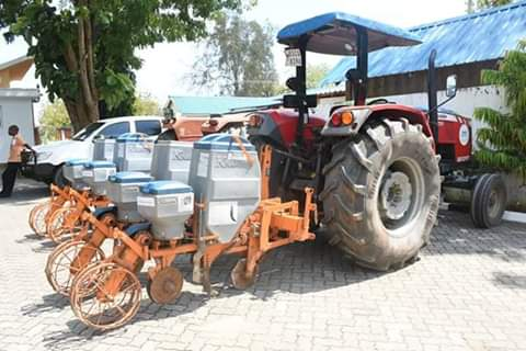 FAO donates Agricultural equipments to Kilifi county. PHOTO | MM