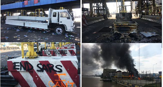 #EndSARS: Fury In Lagos After Deadly Protest Shooting