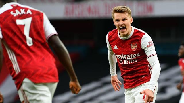 Arsenal Cemerlang Bangkit Tewaskan Tottenham.