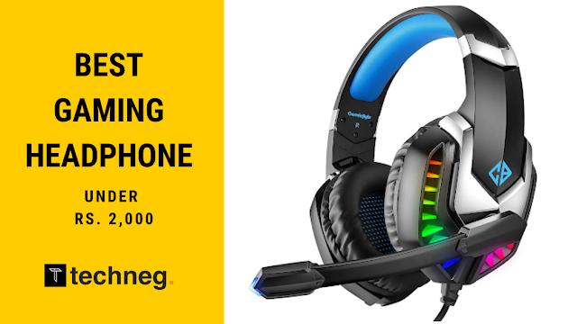 best Gaming Headphone under 2000