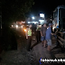 Sat Lantas Polres Sukabumi Evakuasi Kontainer Penyebab Kemacetan di Cibadak