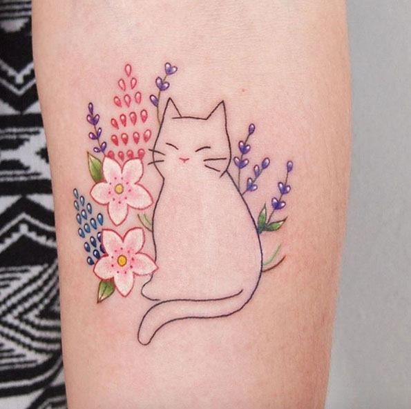 Este gatinho bonito design