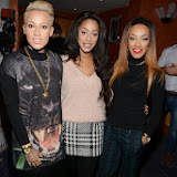 WWW.ENTSIMAGES.COM -    Stooshe   at          London Lifestyle Awards at The Troxy, 490 Commercial Road, London,October 23rd 2013                                             Photo Mobis Photos/OIC 0203 174 1069