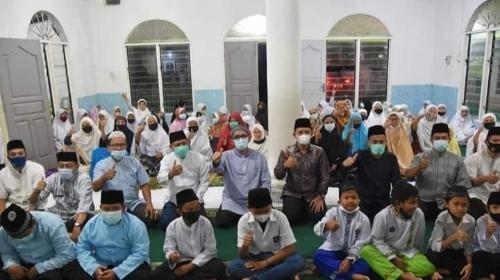 Wako Hendri Septa Kunjungi Musala Tauhid Sawahan Timur