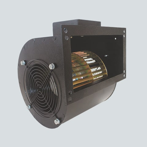 Double Inlet Centrifugal Blower - 544 CFM [Model DI133-2D-S3]