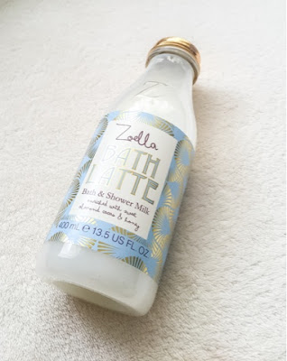 Zoella bath latte bath milk