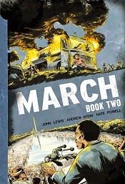 March: Book Two by John Lewis, Andrew Aydin and Nate Powell