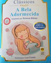 Photo: A Bela Adormecida - Coleção Clássicos Grimm  Localização: Braille J G874b  Edição Braille e em fonte ampliada