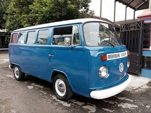 Jual VW Kombi Brasil Biru Cakep