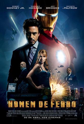 Homem de Ferro 1 - Pôster nacional