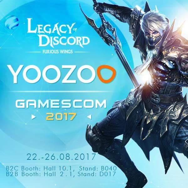 Legacy of Discord Gamescom'a Katılacak Ayrıca Engelliler İçin Bir Kampanyaları Da Var